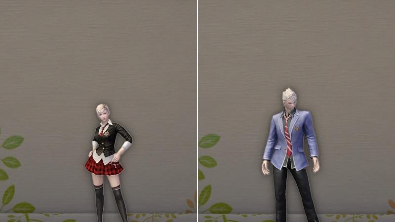 Uniforme scolaire chic Joli uniforme d'école Magnifique béret pour ...